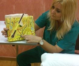 Nurse Maria Boziaka, Specialist Hair Transplant 'Planter'