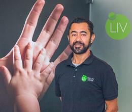 Sergio Gomez, LIV Journey Coordinator