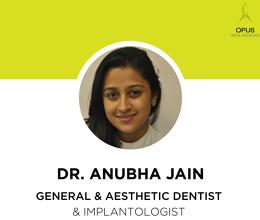 Dr Anubha Jain, Implantologist, General and Aesthetic Dentist