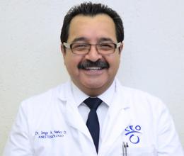 Jorge Arturo Nuñez Diaz, Anesthesiologist