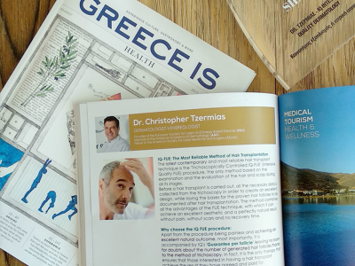 IQ Hair Intensive Quality FUE Hair Transplant, Athens, Greece