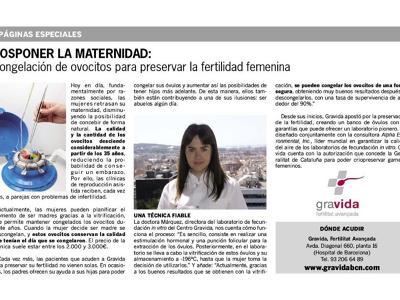 Gravida Fertilitat Avançada Spain, Barcelona, Spain